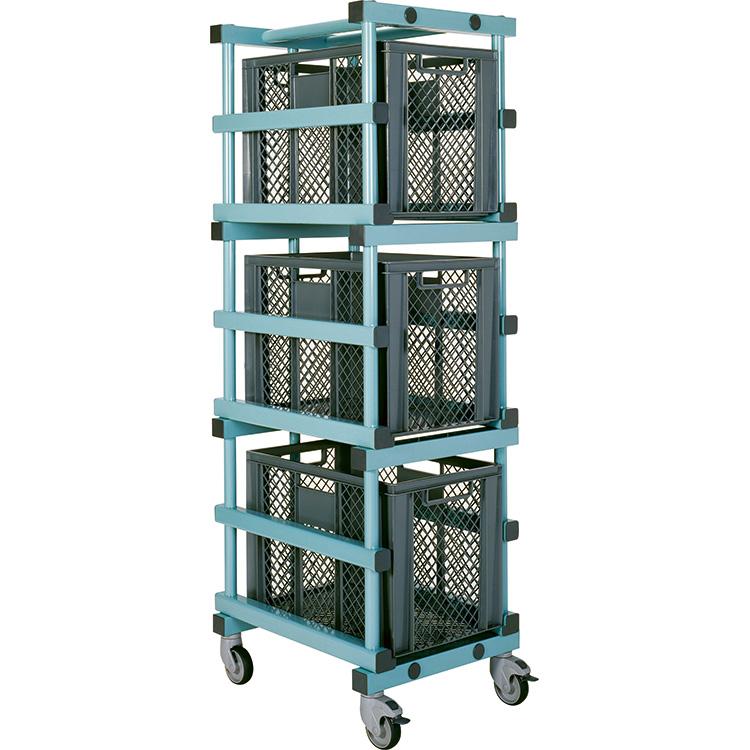 Carrinho de caixas - CTX Euronorm E4   1