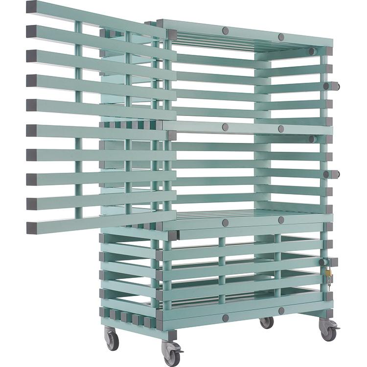 Materiaalwagen, afsluitbaar - ETX Lock   1